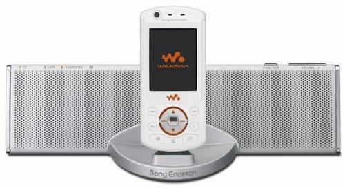 Sony Ericsson Home Audio System MDS-70 SonyEricsson K800i;  K750i; D750i; W800i; W70 Sony Heim-lautsprecher