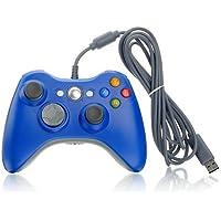Althemax® Wired Xbox 360 USB Game Pad Joysticks Controller pour Xbox 360 ou PC Bleu