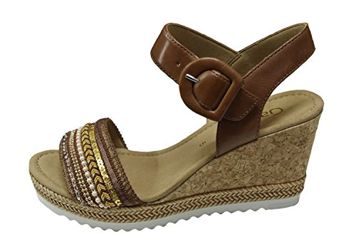 Gabor Damen sandali 65.792.24 cognac braun