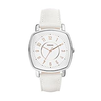 Fossil Idealist – Reloj análogico de cuarzo con correa de cuero para mujer, color blanco