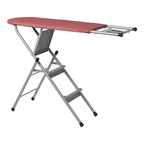 QFFL planche à repasser Planche à repasser pliable Table à repasser grande échelle échelle 122 * 85cm Défroisseur