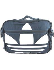 Bolsa de hombro 'Adidas'blanco azul marino (41.5x27x9 cm).