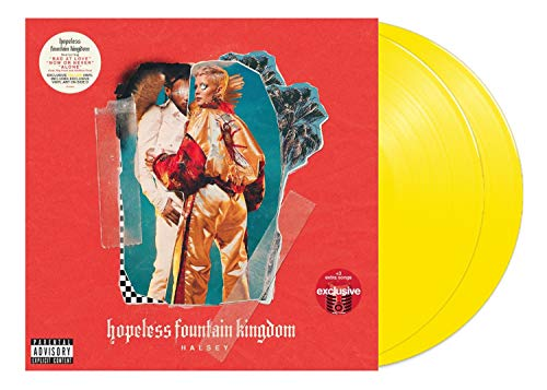 Halsey Hopeless Fountain Kingdom Deluxe Edition, exklusives Vinyl, 2 XLP, Gelb -