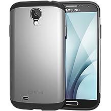 JETech con Super protección Samsung Galaxy S4Case–carcasa funda–funda Ultra Slim Fit Para Galaxy S IV Galaxy SIV i9500(plata)