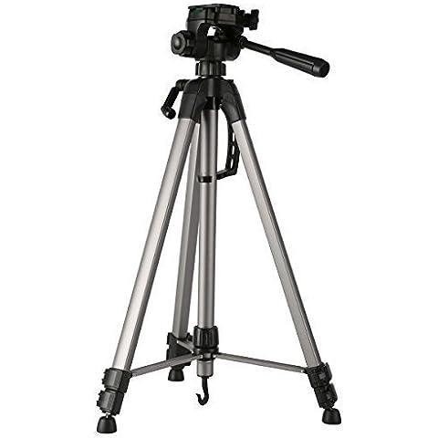 Trípode Cámara Reflex - K&F Concept Trípode Viaje TL2823 (Trípode Ligero, Patas Extensibles de 3 Secciones, Cabeza de Bola) para Canon Nikon Sony DSLR Cámaras y DV, Altura: 168cm, Carga: