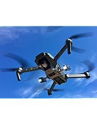 Roboterwerk Drone Headlight / Dualer Nachtflug LED Scheinwerfer (DJI Mavic Pro Drohne Zubehör) - 720 Lumen (FPV Beleuchtung), hellweiß, 360° stufenlos neigbar, bis zu 90 Minuten Akkulaufzeit, Gesamtgewicht 85 Gramm