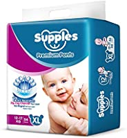 Supples Baby Pants Diapers, X-Large, 54 Count
