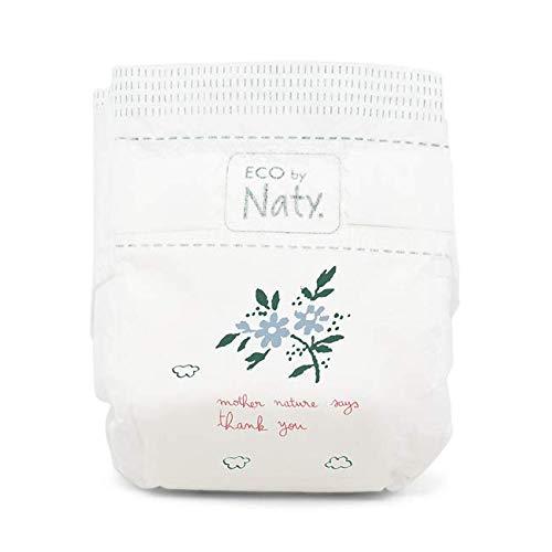 Eco by Naty Premium Bio-Windeln für empfindliche Haut, Größe 5, 11-25 kg, 6 Packungen à 22 Stück (132 Stück insgesamt), weiß - 3