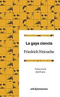 La gaya ciencia par Friedrich Nietzsche