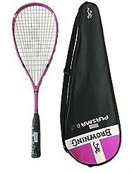Browning Plasma Nano 120 rosa raqueta de Squash PVP £290