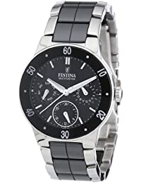 Festina Damen-Armbanduhr Analog Quarz Keramik F16530-2