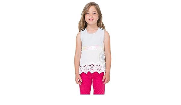Desigual TS/_Montreal T-Shirt Bambine e Ragazze