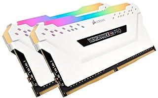 Corsair Vengeance RGB PRO 32 GB (2 x 16 GB) DDR4 3200 MHz C16 XMP 2.0 Enthusiast RGB LED Illuminated Memory Kit - White (B07GSKGSM6) | Amazon price tracker / tracking, Amazon price history charts, Amazon price watches, Amazon price drop alerts