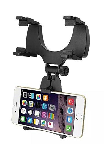 vzer Universal Auto Rückspiegel Halterung Wiege für mobile GPS Handy/PDA/MP3/MP4Geräte Mobile-handy Pda