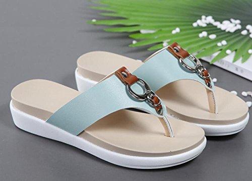 I caratteri nuovi estate 2017 trascinano il fondo della scarpa da spiaggia con i sandali sandwich 3