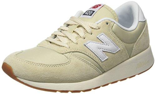 New Balance Damen WRL420 Sneaker, Gelb (WRL420EA), 41 EU - Balance New Lässig Schuhe Womens