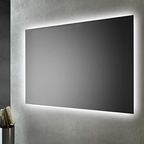 SMMO Specchio Bagno retroilluminato LED sul perimetro 80x60 cm