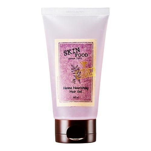 Skin Food - Henna Nourishing Hair Gel - Haargel für Männer und Frauen mit Henna - Extrakt - Starker Halt - Feuchtigkeitsspendende Haargele - Frisiercremes & Haarwachs- Haarpflegeprodukt