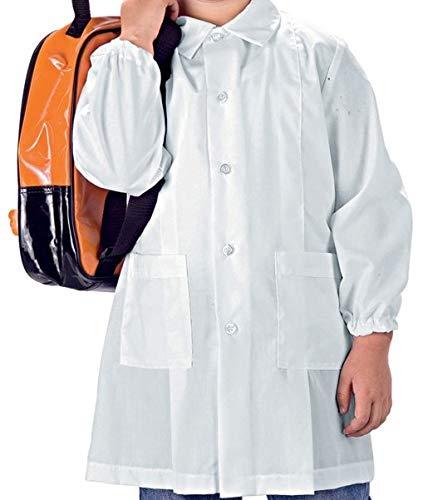 Grembiule asilo siggi color bianco (98 cm)