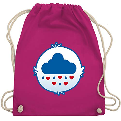 Karneval & Fasching - Cartoon-Bärchis Wolke - Unisize - Fuchsia - WM110 - Turnbeutel & Gym ()