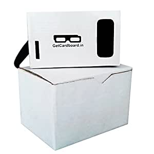 GetCardboard Google Cardboard Inspired Virtual Reality Kit (Fully Assembled vr headset glasses)