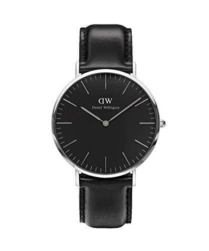 Daniel Wellington – Reloj Hombre 40 mm Daniel Wellington Classic Black Sheffield Silver dw00100133