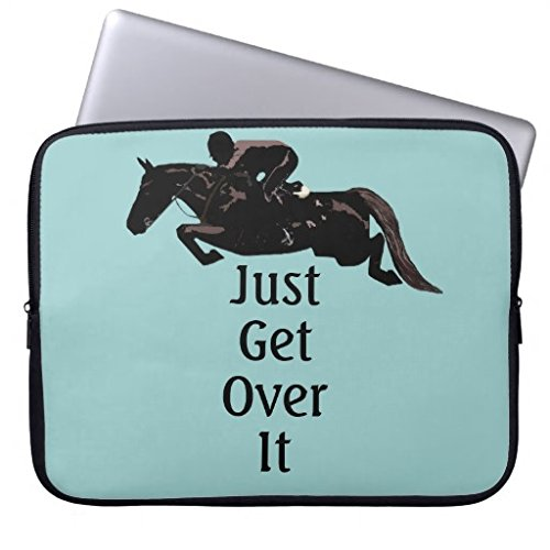116-12-inch-laptop-case-for-men-unique-just-get-over-it-horse-jumper-notebook-computer-case-bag-cove