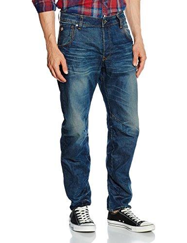 G-STAR RAW Arc 3D Tapered, Jeans Uomo, Bleu-Dk Aged Antic 5543, 31W X 36L (Taglia Produttore 31 36)