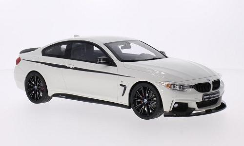 Preisvergleich Produktbild BMW 435i (F32) M Performance, weiss/Dekor, Modellauto, Fertigmodell, GT Spirit 1:18