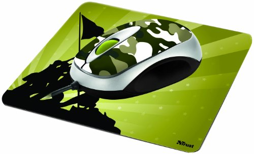 Trust Mini Optical Mouse and Mouse Pad (Combat)
