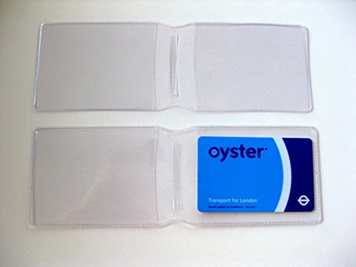 250 X Klar Kunststoff Oyster Card Wallet Kreditkarte Halterung Id Card Wallet Visitenkarten Reise Pass Cover Made In The Uk