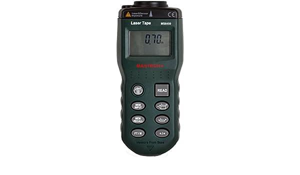 Kaleas Profi Laser Entfernungsmesser Ldm 500 60 : Ultraschall abstandsmessgerät mastech ms6450 0 6 15 m ultrasonic