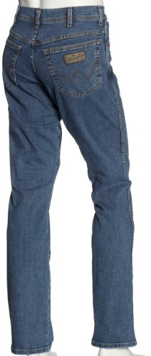 Wrangler Herren Jeans Texas Stretch Blau (Stonewash 010)