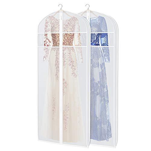 KEEGH Vestido Boda Novia Vestido Ropa Cubierta,183cm