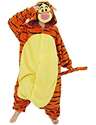 Samgu-Tigrou animal Pyjama Cospaly Party Fleece Costume Deguisement Adulte Unisexe