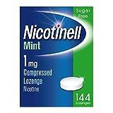 Nicotinell Nicotine Lozenge Stop Smoking Aid 1 mg Mint Sugar Free
