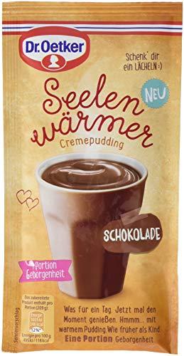 Dr. Oetker Seelenwärmer Pudding Schokolade, 10er Pack (10 x 59 g)