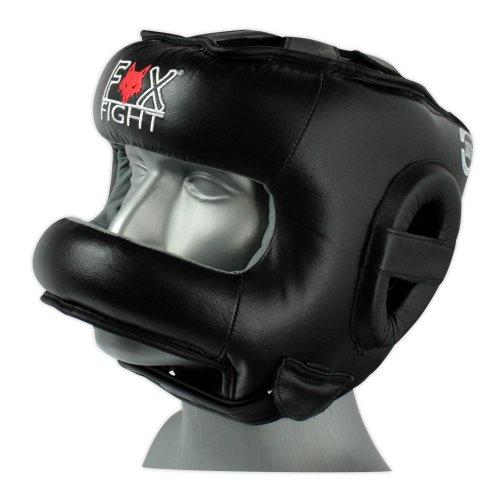 Fox-Fight - Protector de cabeza para artes marciales y boxeo, color ne