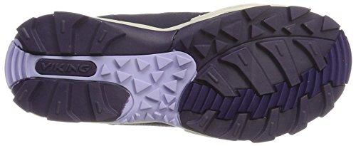 Viking Boulder Boa, Chaussures Multisport Outdoor mixte adulte Violett (Purple/Lavender)