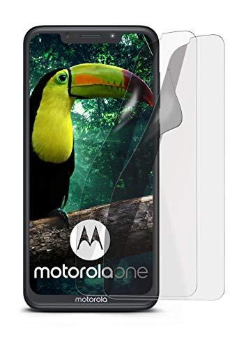 2X Motorola One / P30 Play   Schutzfolie Matt Bildschirm Schutz [Anti-Reflex] Screen Protector Fingerprint Handy-Folie Matte Bildschirmschutz-Folie für Motorola One / P30 Play Bildschirmfolie