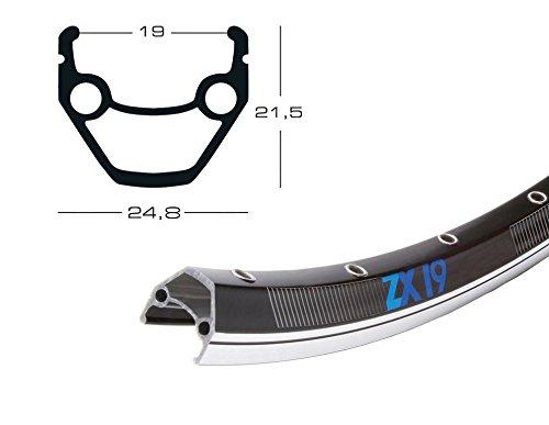 Exal ZX 19 Fahrrad Felge Schwarz // 559-19 (26´´)