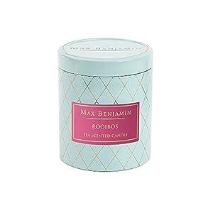 Thé Rooibos Max Benjamin Bougie parfumée dans boîte en métal