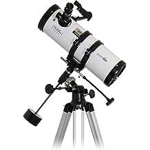 Zoomion Teleskop Philae 114 EQ, Fernrohr für die Astronomie mit 114mm Öffnung und 500mm Brennweite