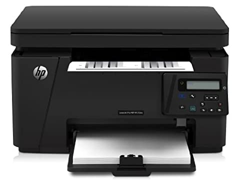 HP LaserJet Pro M125nw Laserdrucker Multifunktionsgerät (Drucker, Scanner, Kopierer, WLAN, LAN, HP ePrint, Apple Airprint, 600 x 600 dpi) (Scanner A4 Lan)