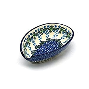 Polish Pottery Spoon Rest – Wisteria
