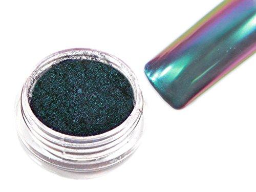 Flip Flop Chrom Pigment Mirror Spiegeleffekt 0,5g Green-Purple FF-02