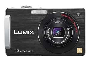 Panasonic Lumix FX550 Digital Camera - Black (12.1MP, 5x Optical Zoom) 3.0 inch LCD