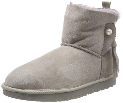 Tamaris Damen 26470-21 Schlupfstiefel, Grau (Light Grey 254), 38 EU