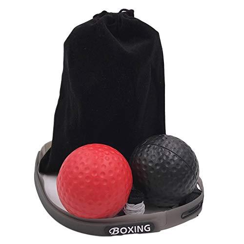 Palla da Boxe con Fascia, abilità di Combattimento e coordinazione Occhio-Mano, Attrezzatura da Boxe per Boxe