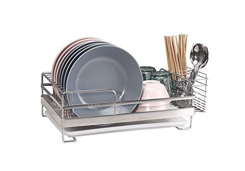 SUS 304Edelstahl Küche Abtropfgestell Trocknen Rack für Trocknen, Gläser, Schalen, Teller.